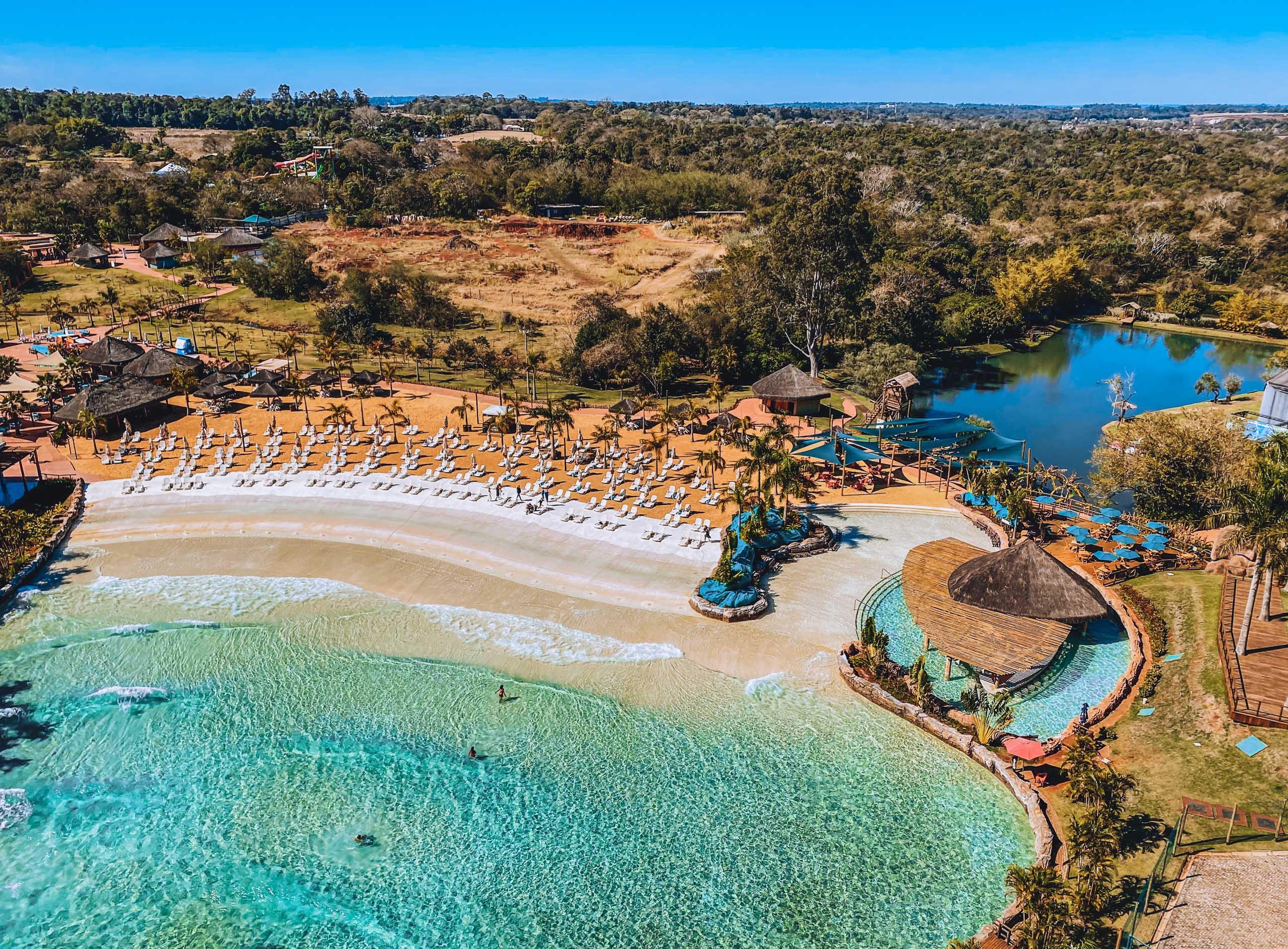 Existe praia em Foz do Iguaçu?