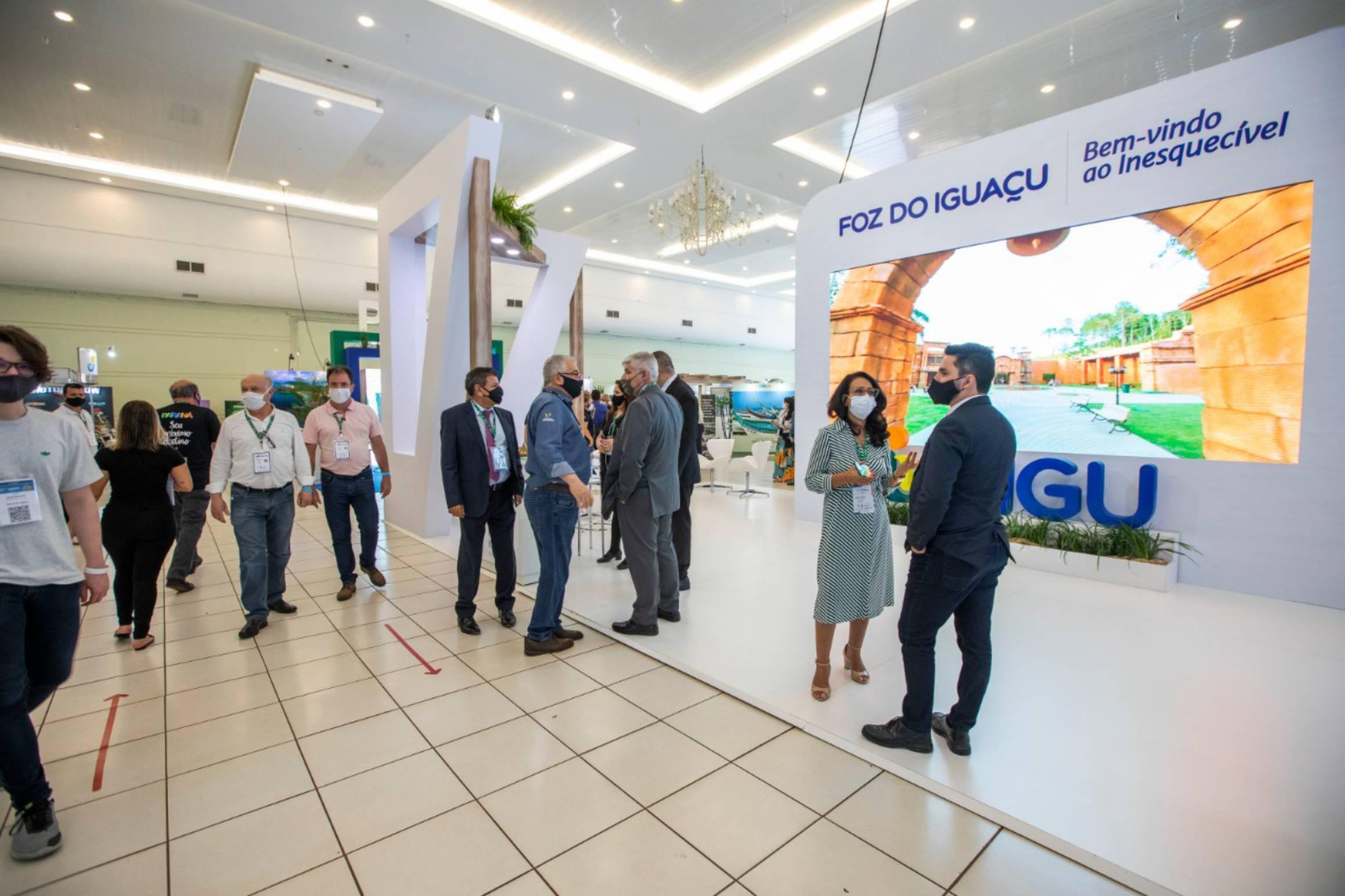 Três grandes eventos marcam retomada de turismo em Foz